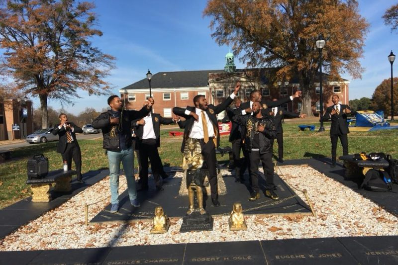 Alpha Phi Alpha on the plot