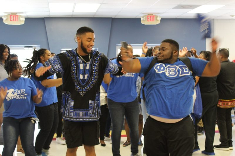 Phi Beta Sigmas in the Cafeteria