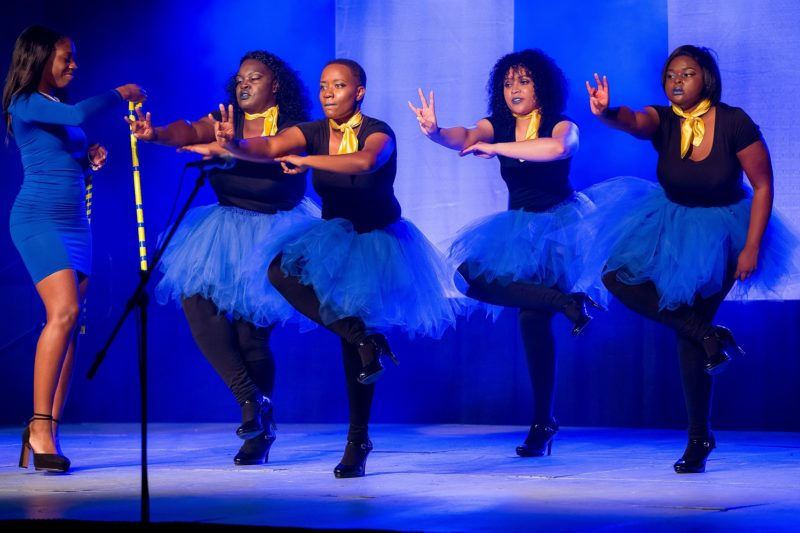 Sigma Gamma Rho's at Step Show