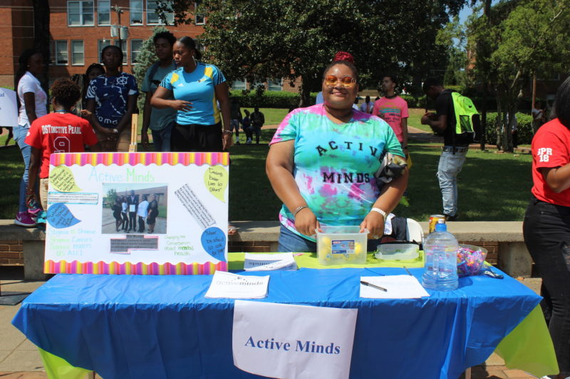 Active Minds at Club Fest