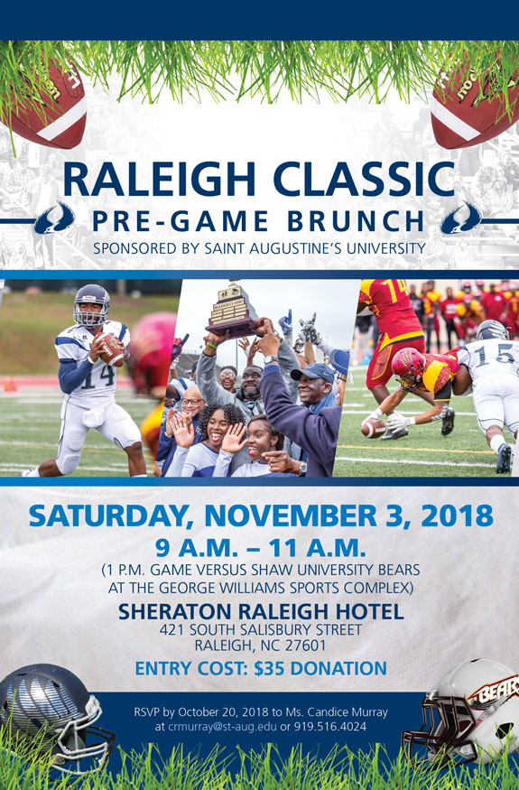 Raleigh Classic Pre Game Brunch Saint Augustine S University