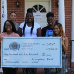 5 students receive $9500 scholarship to bridge the gap
