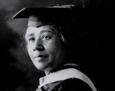 Dr. Anna Julia Copper in regalia