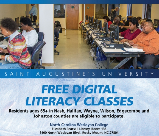 SAU Holds Free Digital Literacy Courses for Eastern NC Counties